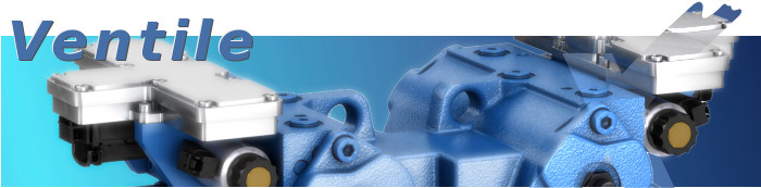 Hydraulik-Ventile von Bosch / Rexroth